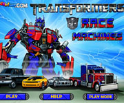 Transformers Race Machines